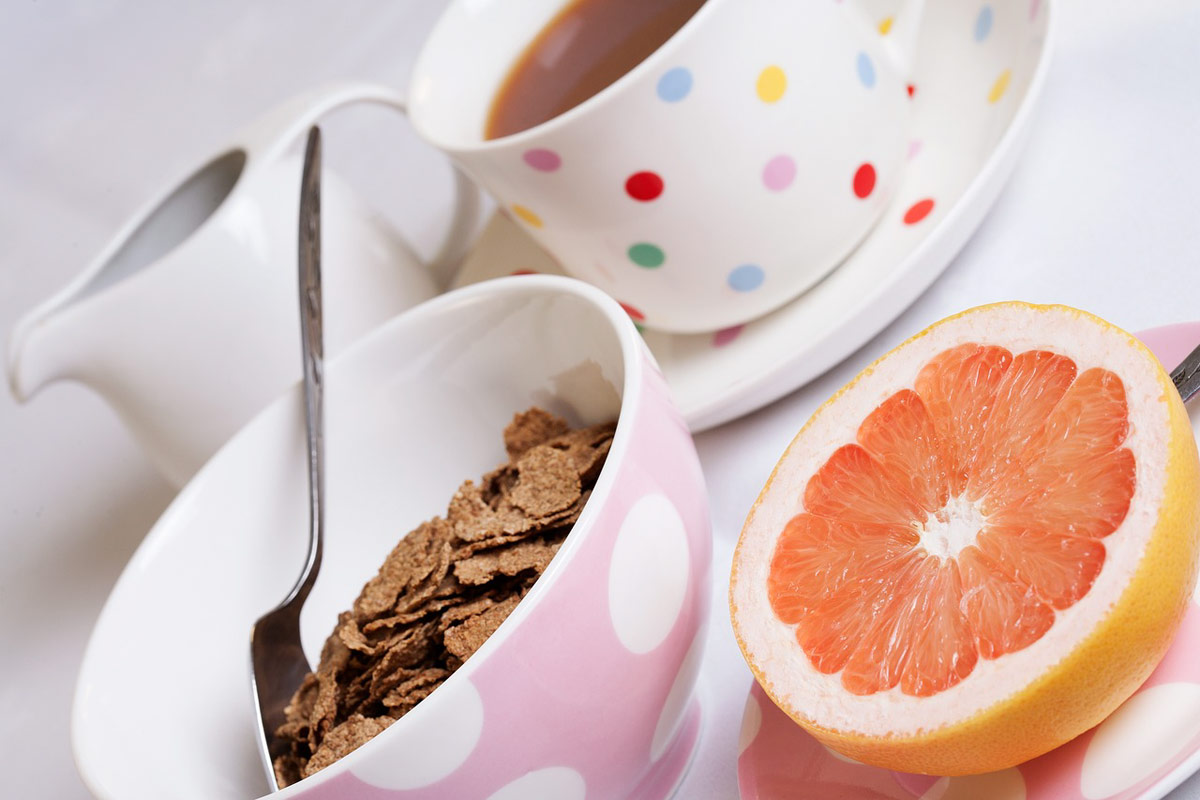 fibra cereales desayuno saludable