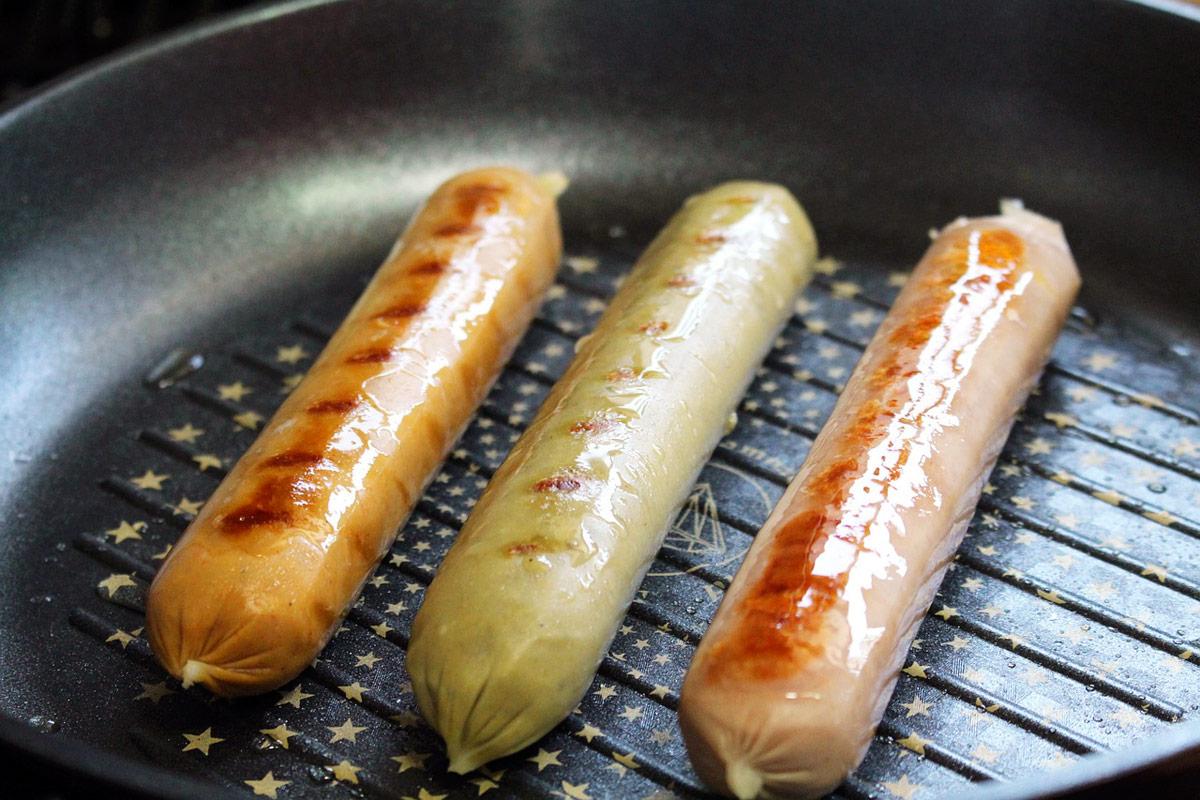 diferentes tipos salchichas