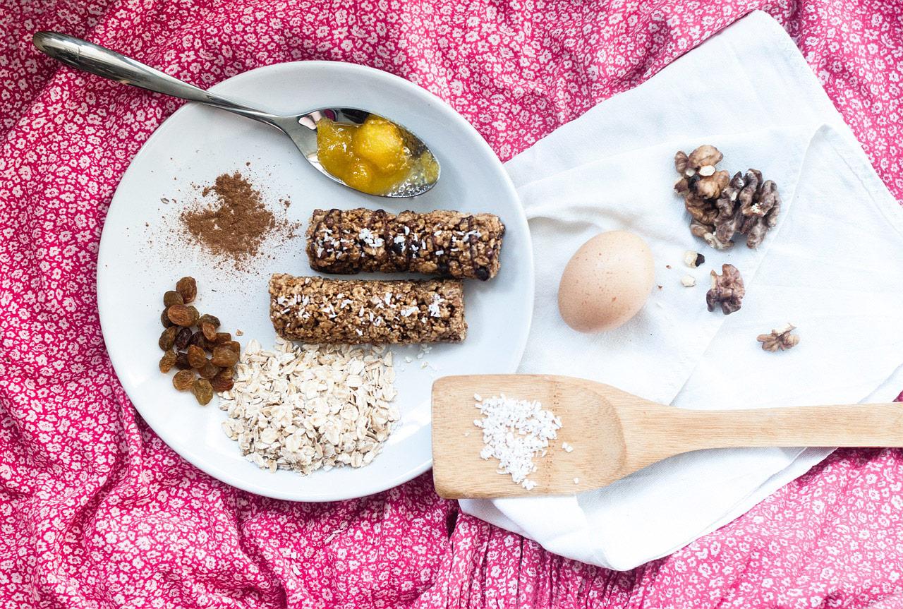 barrita cereales casera ingredientes