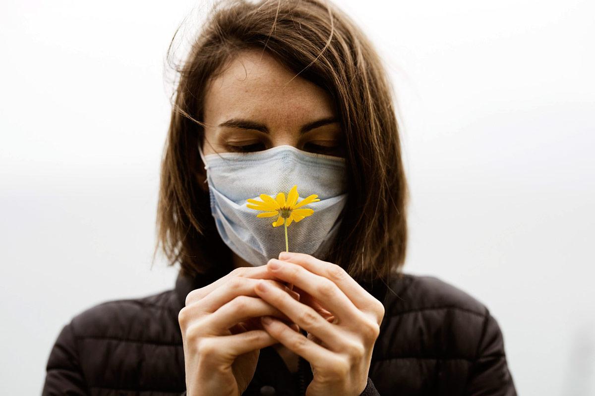 mascarilla contra alergias primavera
