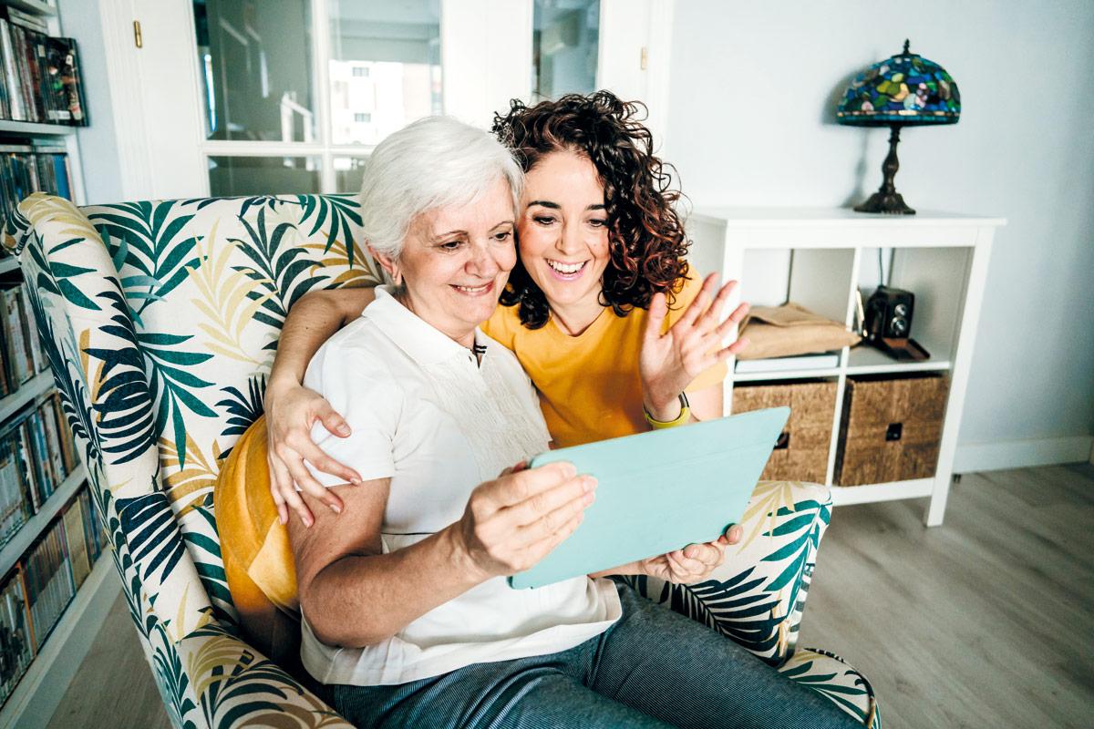 brecha digital apps personas mayores