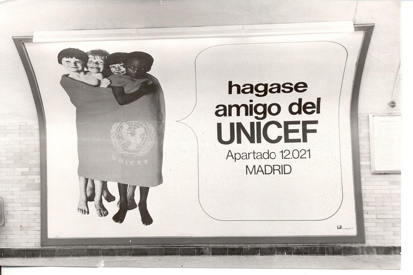 5  Foto 60 aniversario UNICEF Espana_anos70
