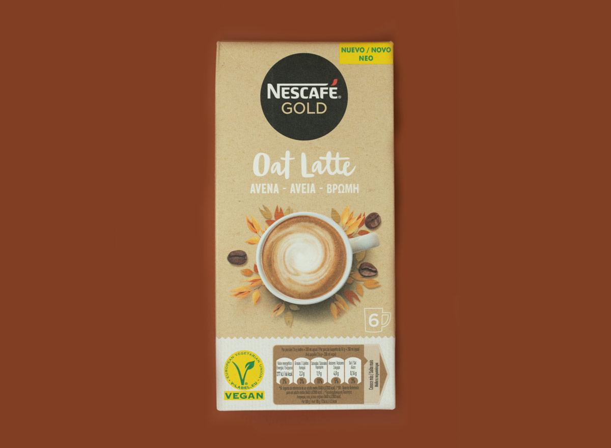 Nescafe Gold Latte avena opiniones