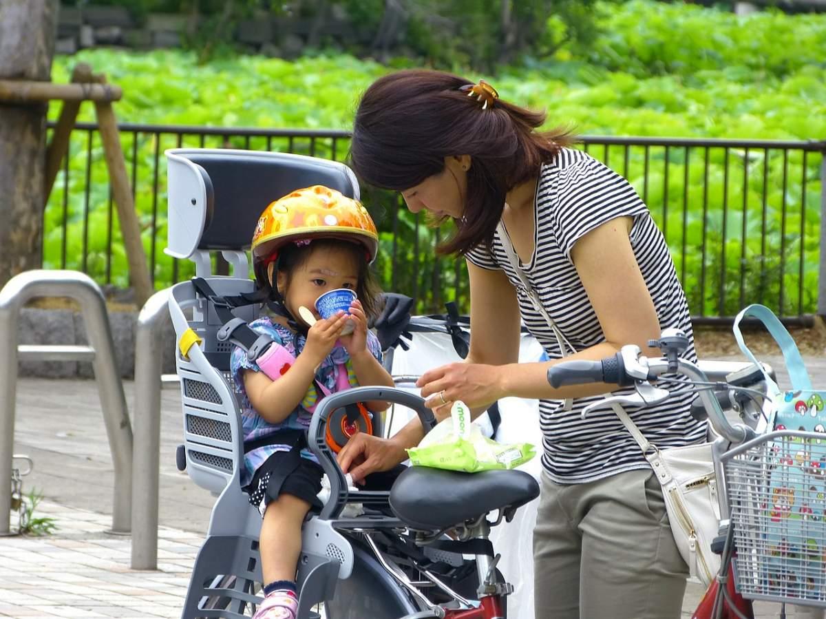 bicicleta silla bebe