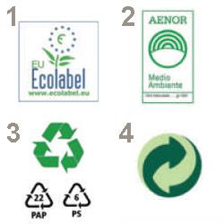 logotipo ecologico envases
