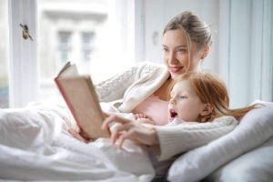 lectura bebe nino