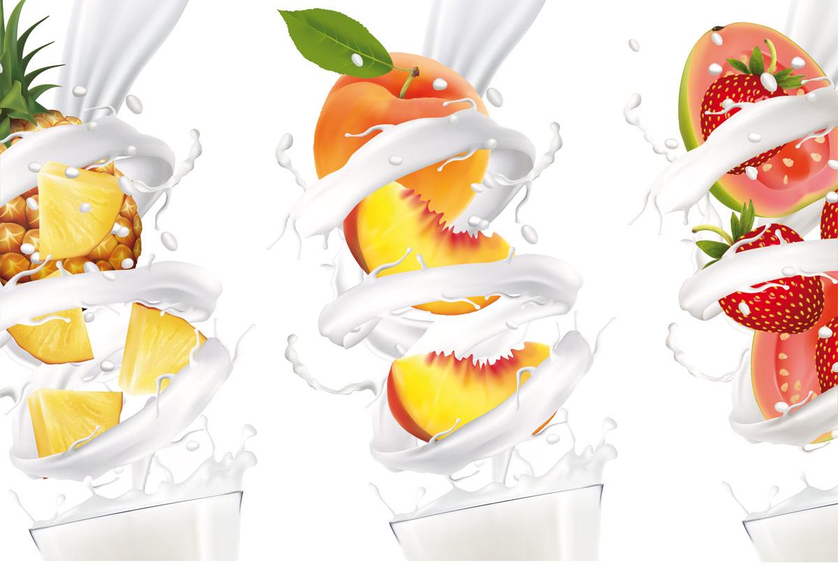 lacto zumos fruta azucar