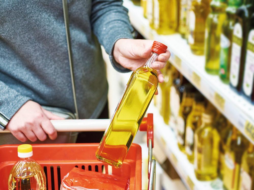 nutriscore aceite de oliva