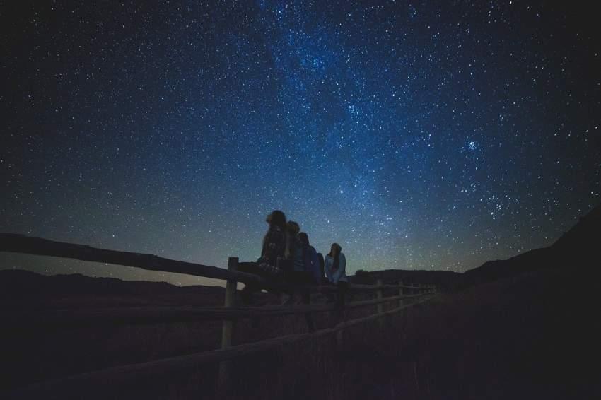 estrellas cielo ninos