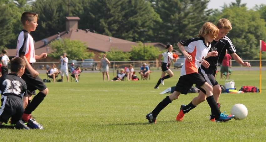 fútbol deporte escolar