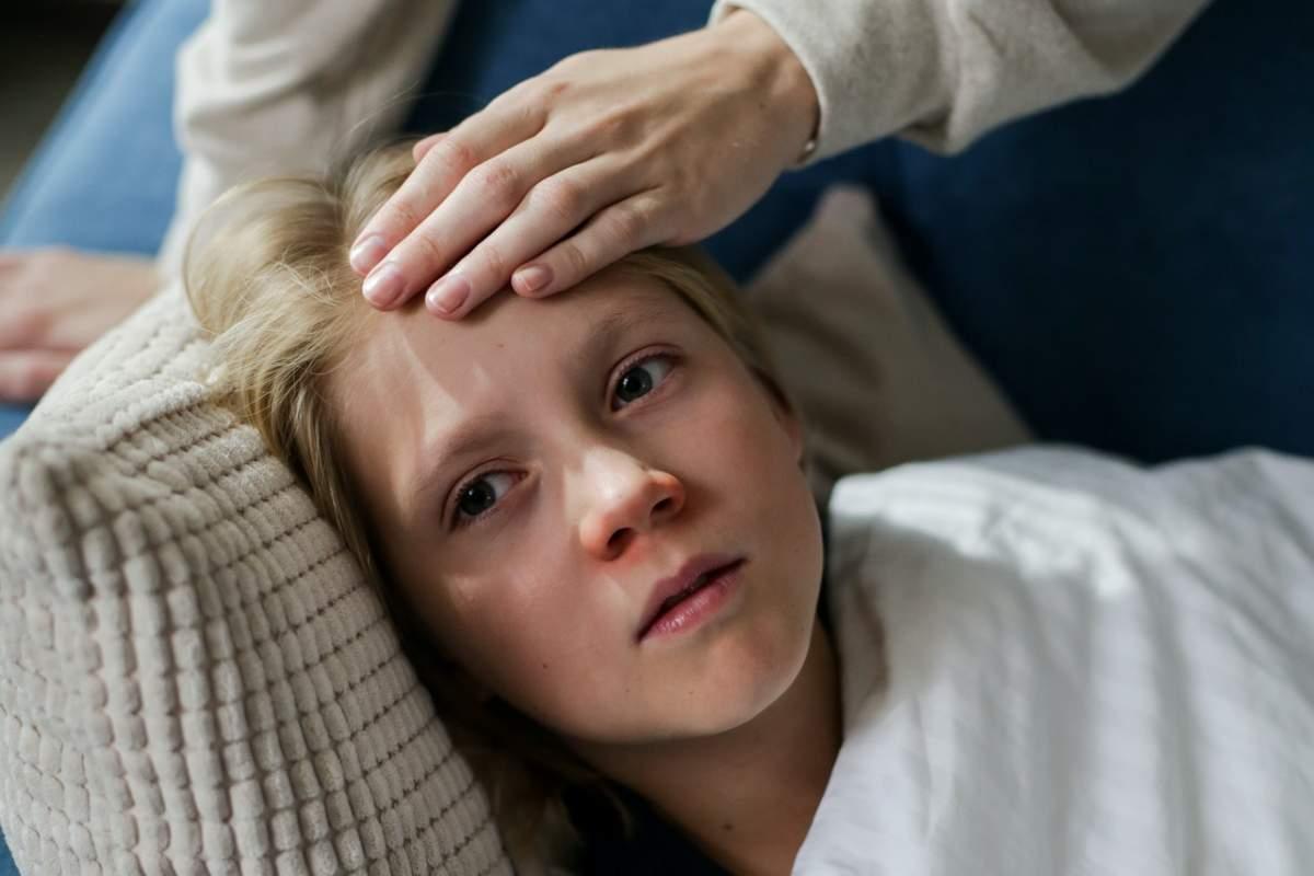 dolor de cabeza niño