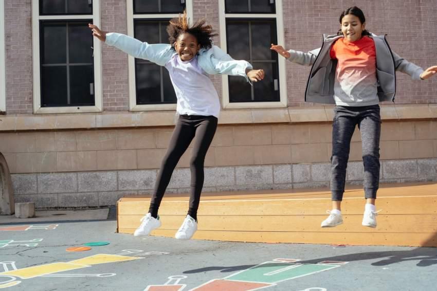patio actividad fisica colegio
