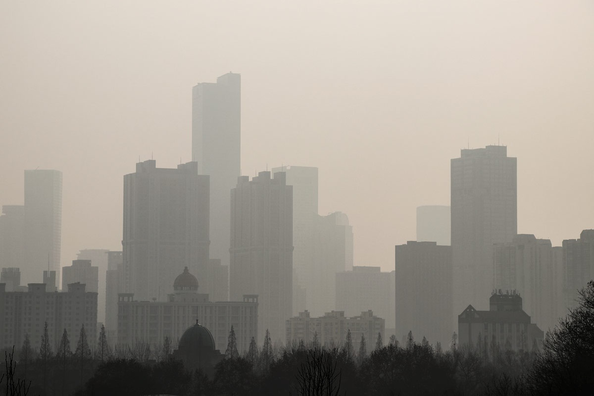 contaminación del aire y problemas de salud