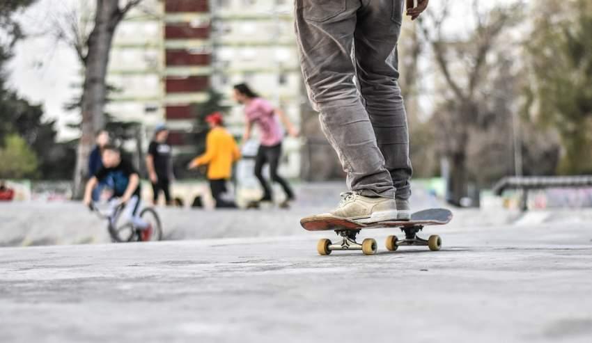 skate parque ciudad