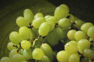 uvas dulces frutas