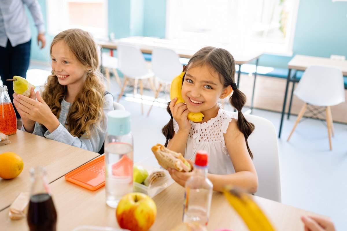 comedor escolar niños