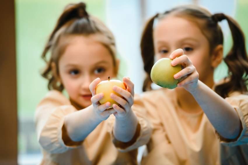 fruta comedor escolar