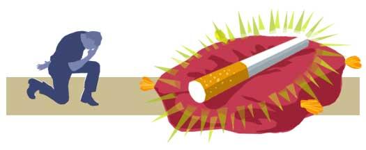 Analiza los motivos por los que fumas