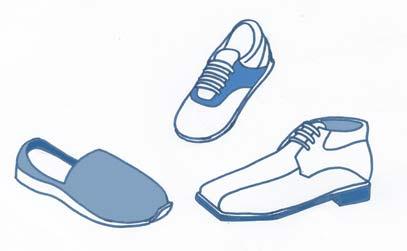 El calzado es un factor importante que influye en la postura corporal