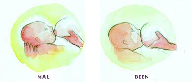 Cómo poner el bebé al pecho
