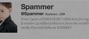 Spamentwitter pk