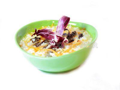 Receta de cocido de zanahoria y arroz con achicoria