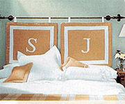 Preparar un original cabecero para la cama eroski consumer - Cabeceros de cama con cojines ...