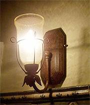 Apliques de aspecto antiguo alumbrado tenue eroski consumer - Eroski iluminacion ...