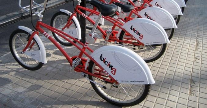 Bicicletas públicas urbanas