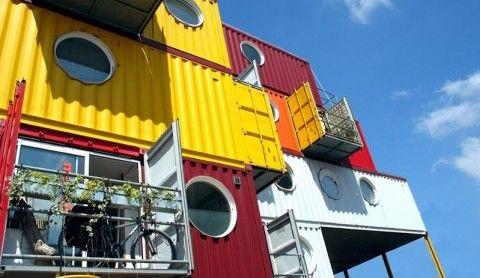 Contenedores de barco como edificios ecol gicos eroski consumer - Contenedores de barco ...