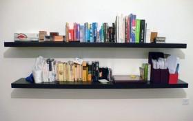 Baldas con estilo para los libros en el sal n eroski for Guias para baldas