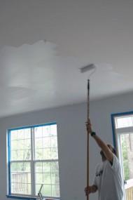 Pintar con rodillo algunos consejos eroski consumer - Consejos para pintar techos ...