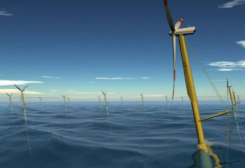 aerogeneradores flotantes
