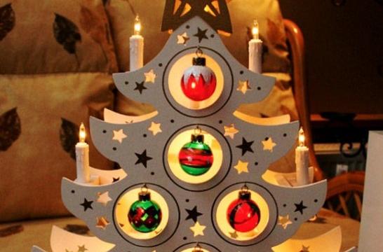 como hacer arbol de navidad