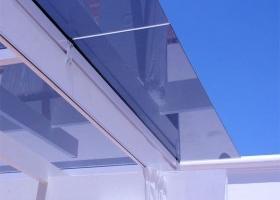 Techos transparentes en la terraza eroski consumer for Cubiertas transparentes para techos