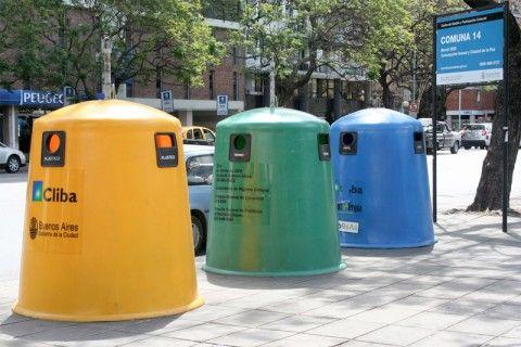 Ganar premios y dinero por reciclar eroski consumer - Cubos de basura originales ...