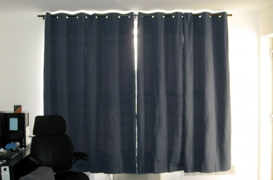 cortinas aislantes para no perder calor por la ventana