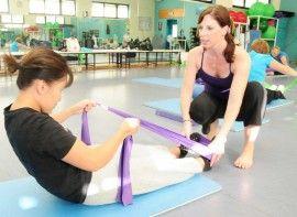 Pilates para el cáncer de mama  9417f66041be