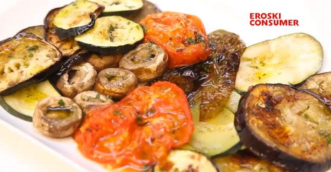 V deos del canal de alimentaci n eroski consumer - Salsa para verduras al horno ...