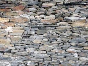 construir paredes de piedra seca - Muro De Piedra