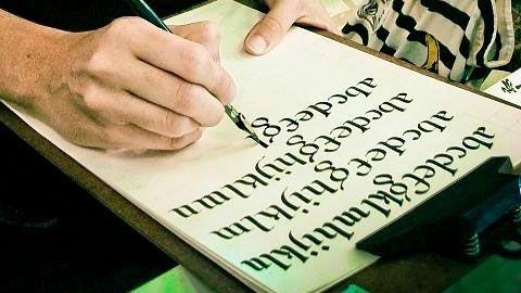 Caligrafía artística, cómo mejorar la escritura | EROSKI CONSUMER