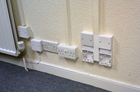 Canaletas para cables seguridad y decoraci n en el hogar eroski consumer - Instalacion electrica superficie ...