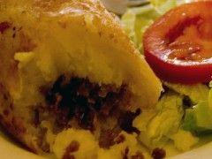 Hacer alb ndigas de patata rellenas eroski consumer - Guarnicion para albondigas ...