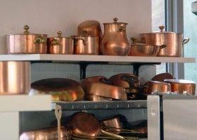 Limpiar y abrillantar objetos de cobre en la cocina - Como limpiar cobre y bronce ...