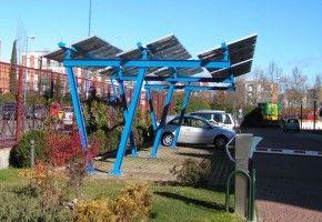 Fotolineras Energ 237 A Solar Para Recargar Coches El 233 Ctricos