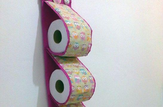 Soportes con estilo para el papel higi nico eroski consumer for Portarrollos papel higienico