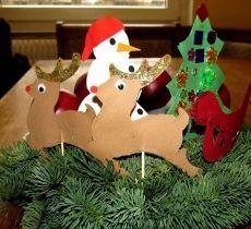 decoracion navide a casera ni os