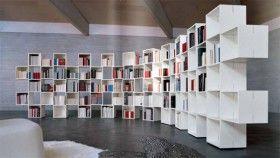 Estanter as de dise o para libros un aire de modernidad - Estanterias diseno para libros ...