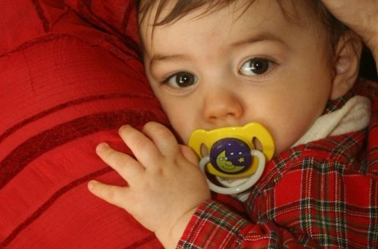 cb0475f4b El chupete del bebé
