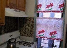 cortinas cules son mejores para la cocina
